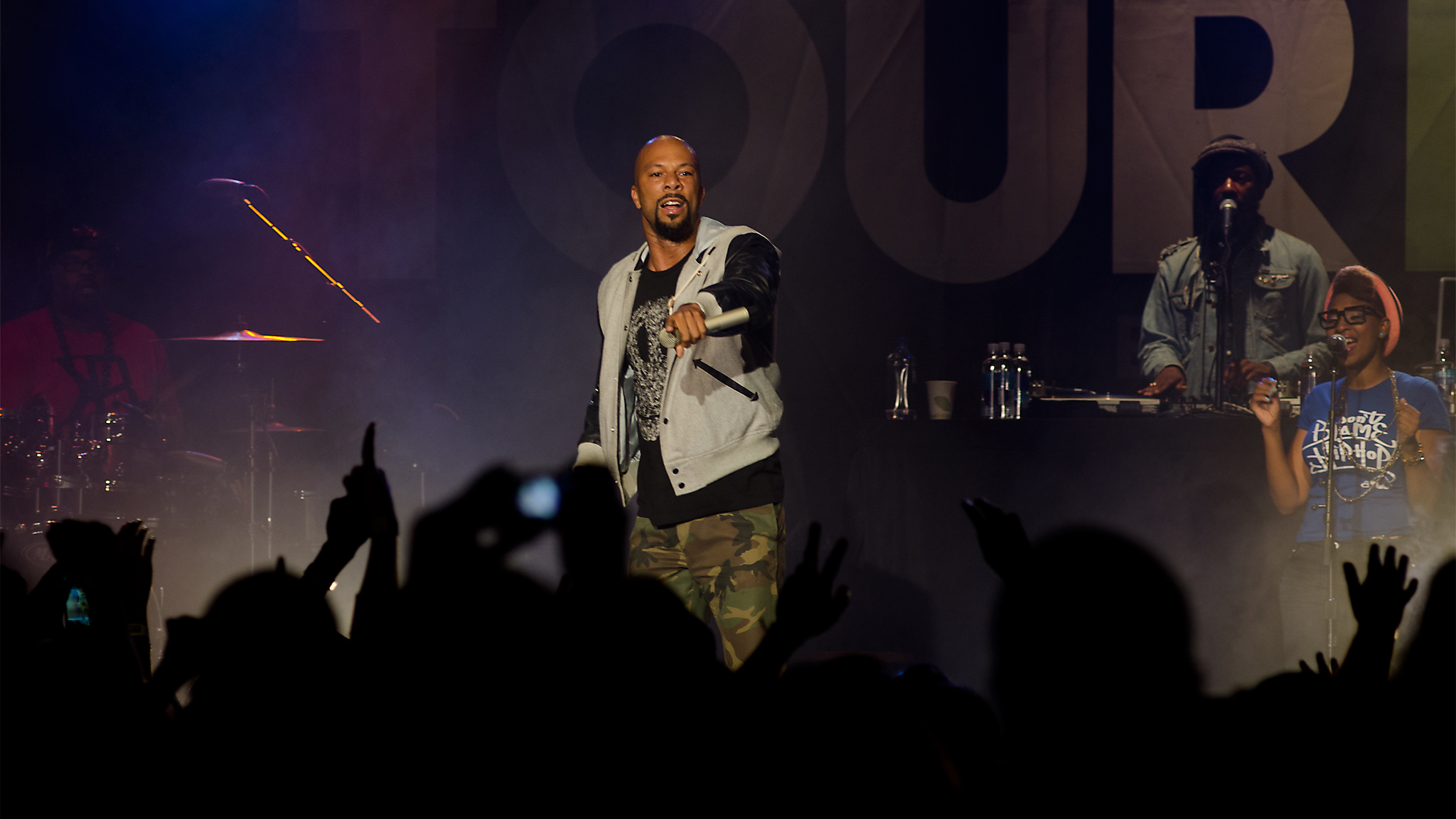 Hip-hop legend Common performed at the Dew Tour in San Francisco this weekend.