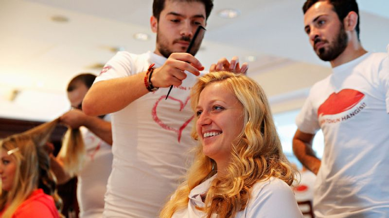 Petra Kvitova, the 2011 WTA Championships champion, is certainly far happier getting her hair done than she was when she found out she was facing Serena Williams in the opening round.