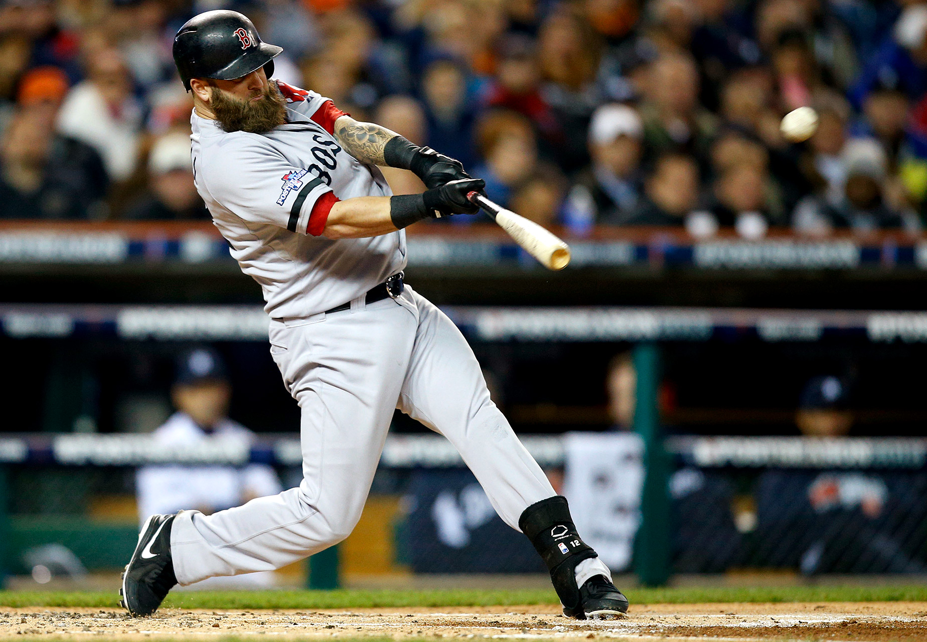 Best raw power: Mike Napoli