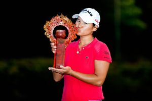 Yani Tseng won the inaugural LPGA event in Taiwan in 2011 -- and pretty much everything in sight that year.