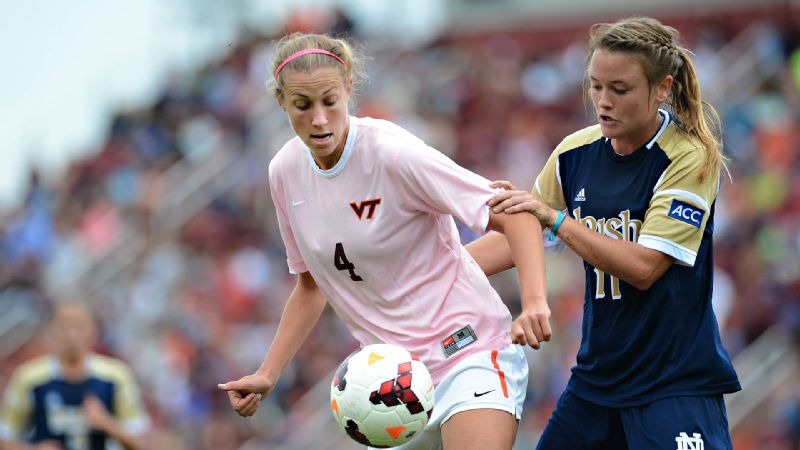 Shannon Mayrose said the Virginia Tech soccer team has a hard time getting the attention it deserves because of teams like North Carolina and Wake Forest in its conference.
