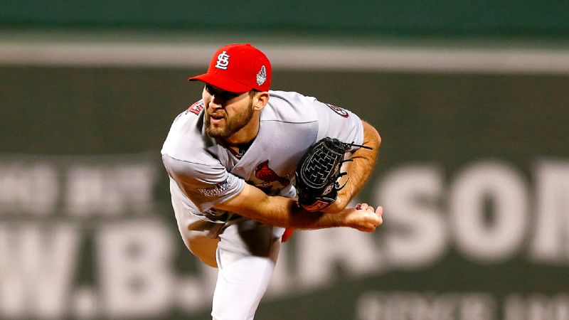 Michael Wacha has been bearing down on the mound for St. Louis throughout the postseason.
