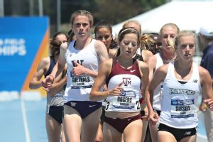 Goethals, left, set her sights on returning to the track and emerged as strong as ever.