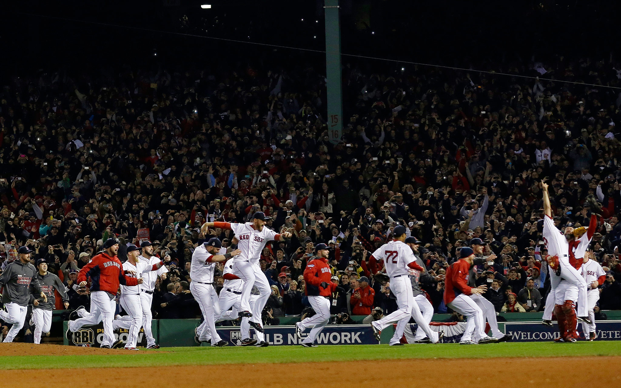 Storming the Mound