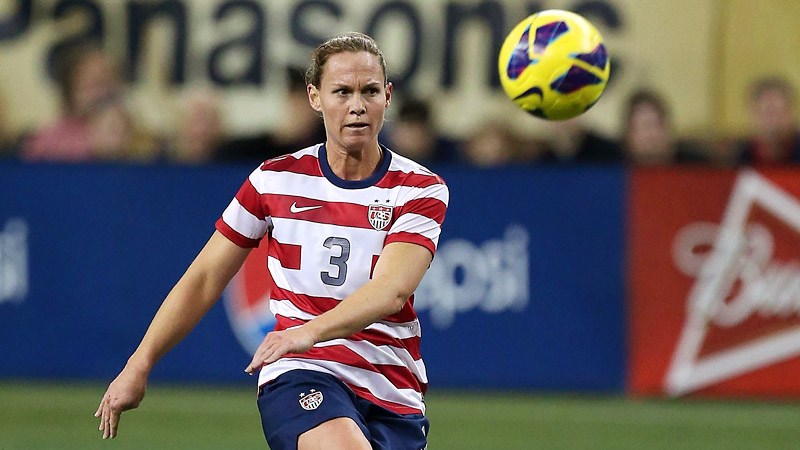 Christie Rampone played in both of the USWNT's games against New Zealand this week.