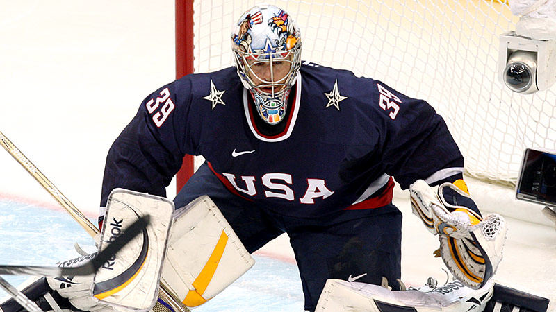 The hero of the 2010 U.S. Olympic hockey team, Miller led the team to a silver medal and within a goal of winning the gold. Four years later, however, the Sabres goalie might not even make the Sochi squad. Six goalies, including Miller, were invited to training camp in August, but only three will make the roster. The 33-year-old seems determined to spend the final months of 2013 proving he is worthy of a spot on the 25-member team, which will be announced on Jan. 1. I(Photo by Getty Images)/I