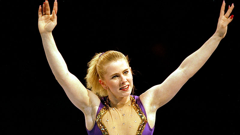 Tonya Harding became the first American woman to land a triple axel in competition at the 1991 U.S. championships.