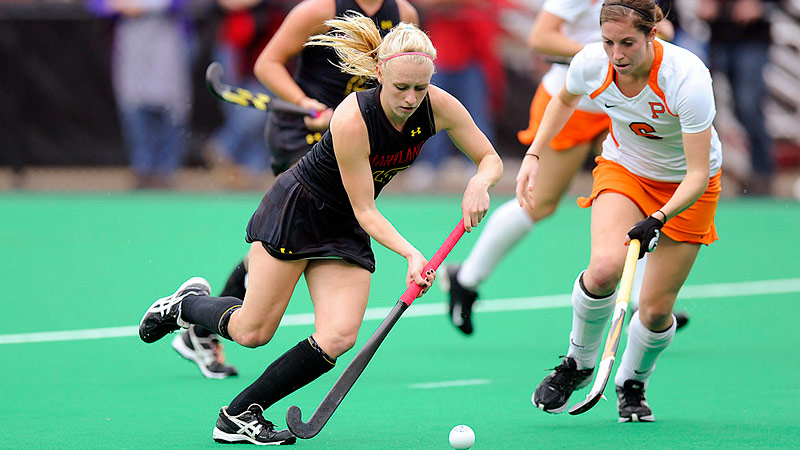 Jill Witmer, the ACC Offensive Player of the Year, has 19 goals for Maryland.