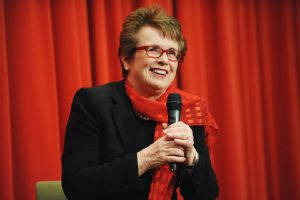 Billie Jean King was deeply honored to be chosen as part of the U.S. delegation for Sochi.