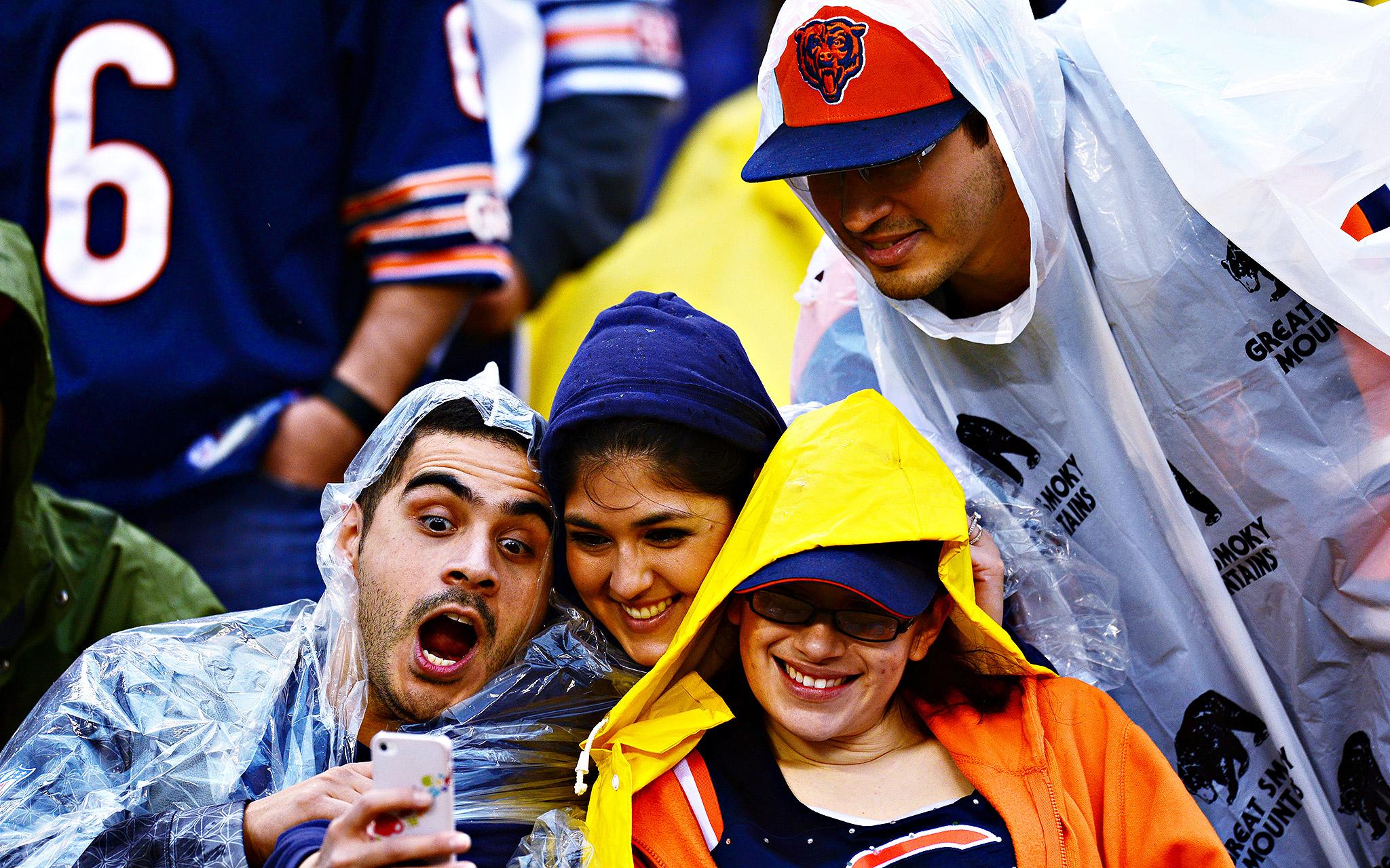 Bears Fans Selfie