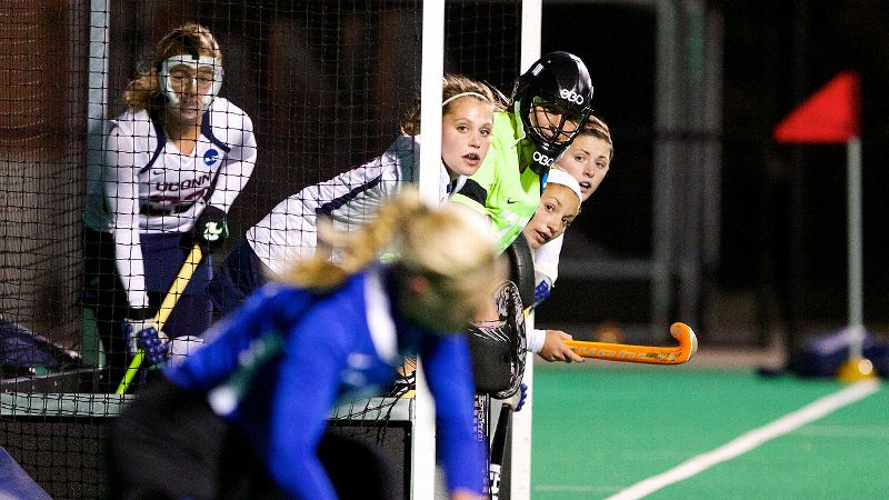 Connecticut's defense kept Duke out of the net, posting the championship game shutout.