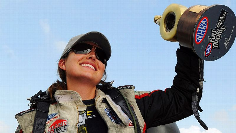 Ashley Force Hood helped pave the way for her younger sisters, Brittany and Courtney, who continue to race today.