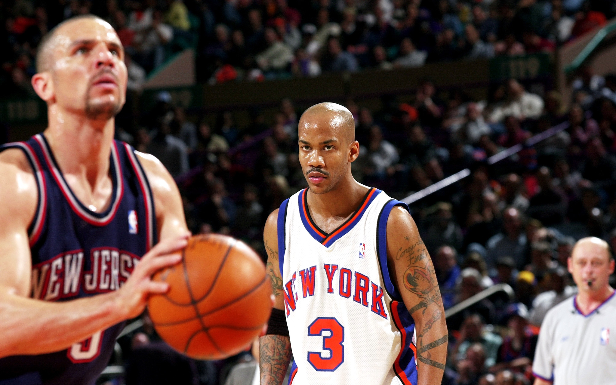Jason Kidd and Stephon Marbury