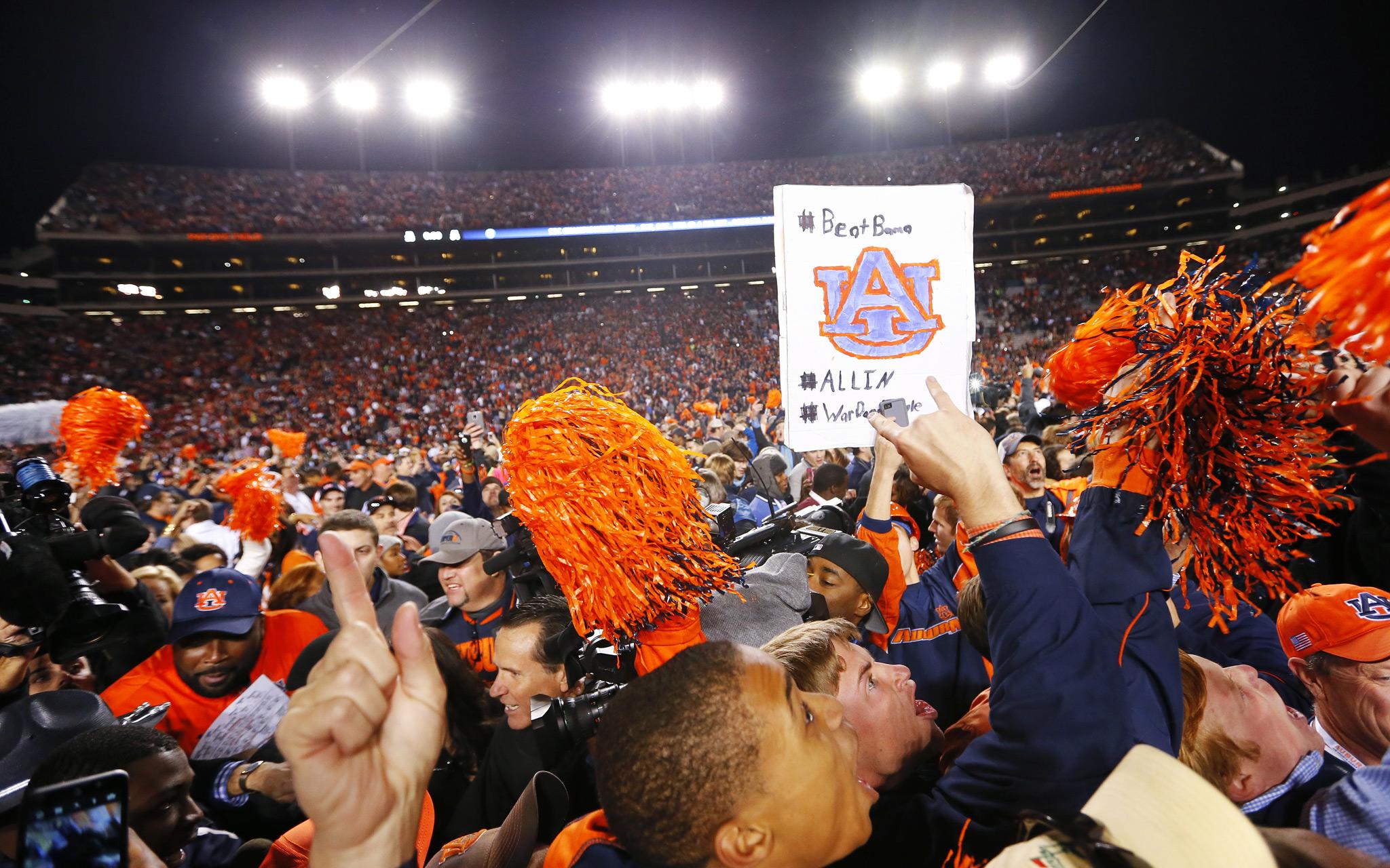 Auburn wins