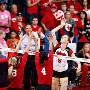 Amber Rolfzen tied her career high with 16 kills in the Huskers' regular-season finale against Penn State.