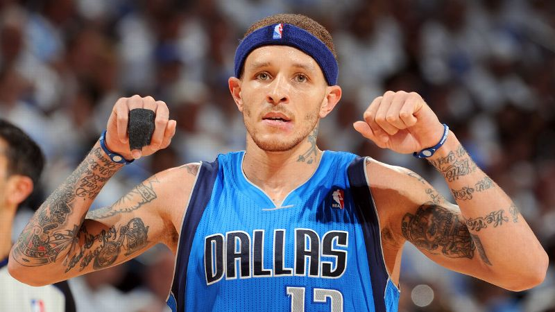 Delonte West has never been one for convention. So was it really any surprise when he gave Gordon Hayward a wet willy in his ear during a game in 2012? Only to Hayward, apparently. West immediately was called for a technical foul and was later fined 25,000 for the gross move. (Photo: Garrett W. Ellwood/Getty Images)