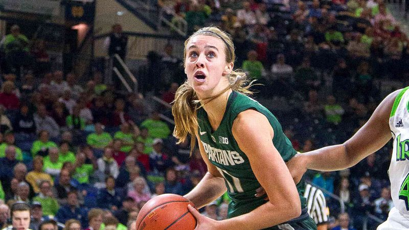 Annalise Pickrel (pictured) and the Spartans, who won 25 games last season and were picked to finish third in the Big Ten, have had to rally with three wins in four games before the start of conference play. Michigan State's best win thus far is an overtime victory over Dayton -- but there were losses to Notre Dame, Florida State, Virginia Tech and Oklahoma State. -- Michelle Smith (Trevor Ruszkowksi/USA TODAY Sports)