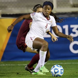 Jamia Fields led Florida State into the College Cup final with a win against Virginia Tech on Friday night.