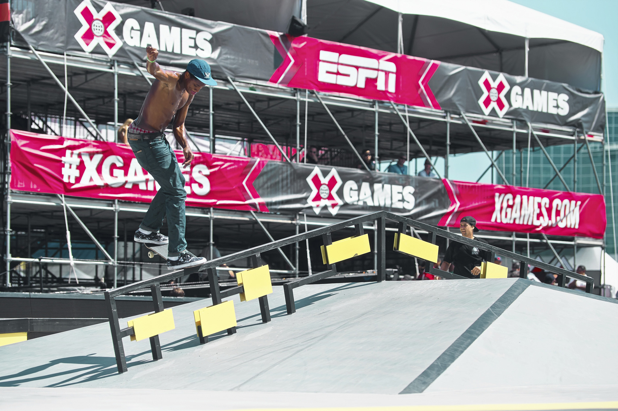 Wair at X Games Los Angeles 2013