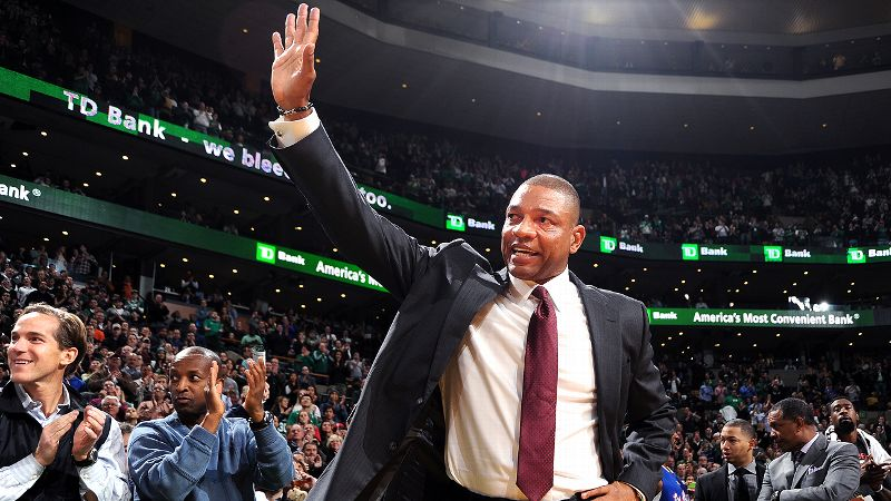 Doc Rivers said a standing ovation left him basically useless at the start of Wednesday night's game.