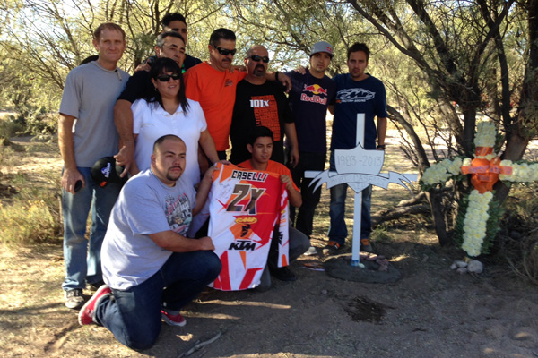 The day after the accident, Antti Kallonen, Ivan Ramirez and several members of the Ramirez family visited the crash site and created a memorial.