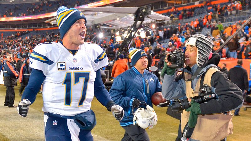Philip Rivers was doing much better before he decided to change out of his work clothes on Thursday night.
