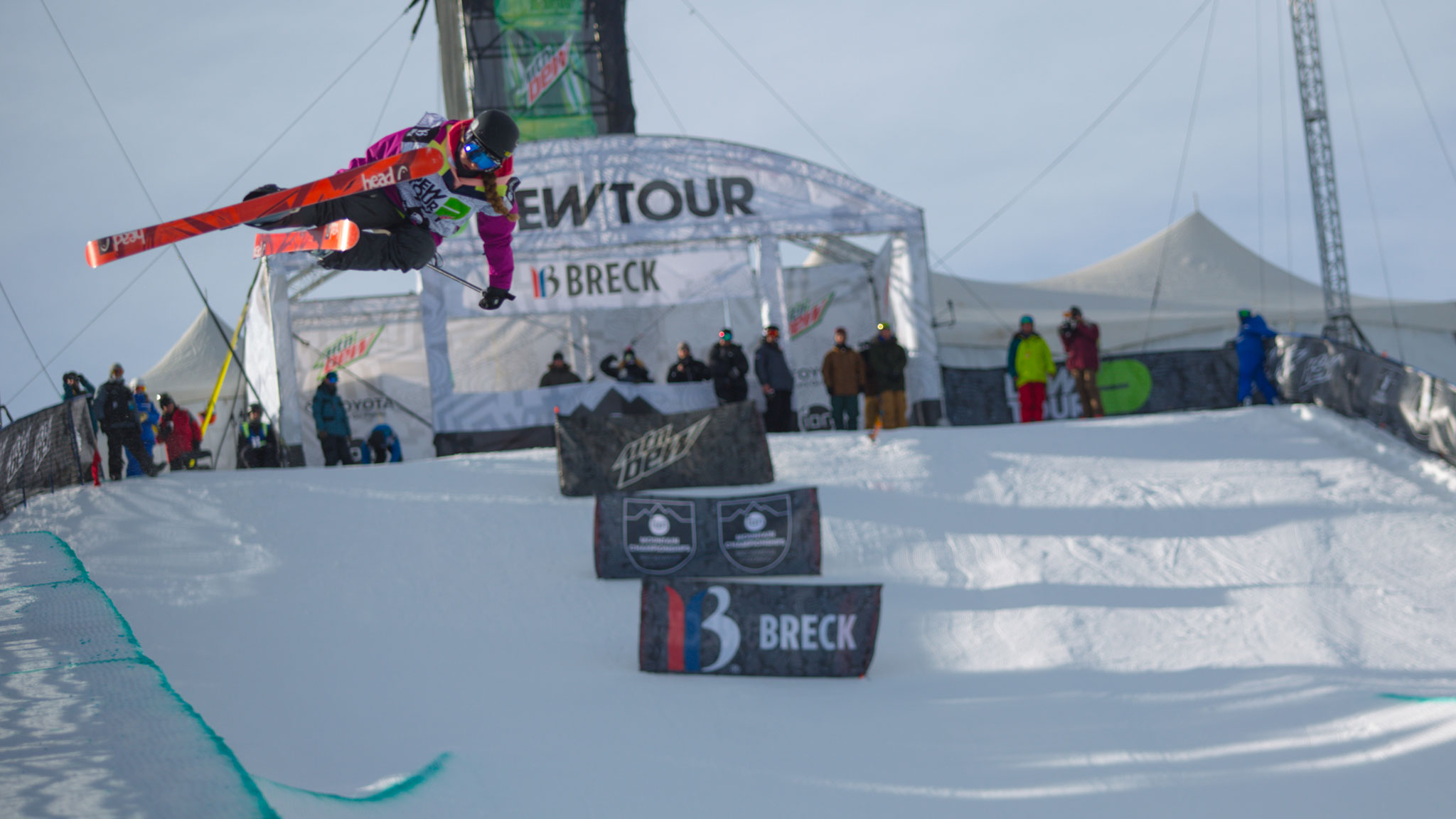 Maddie Bowman, Superpipe Winner