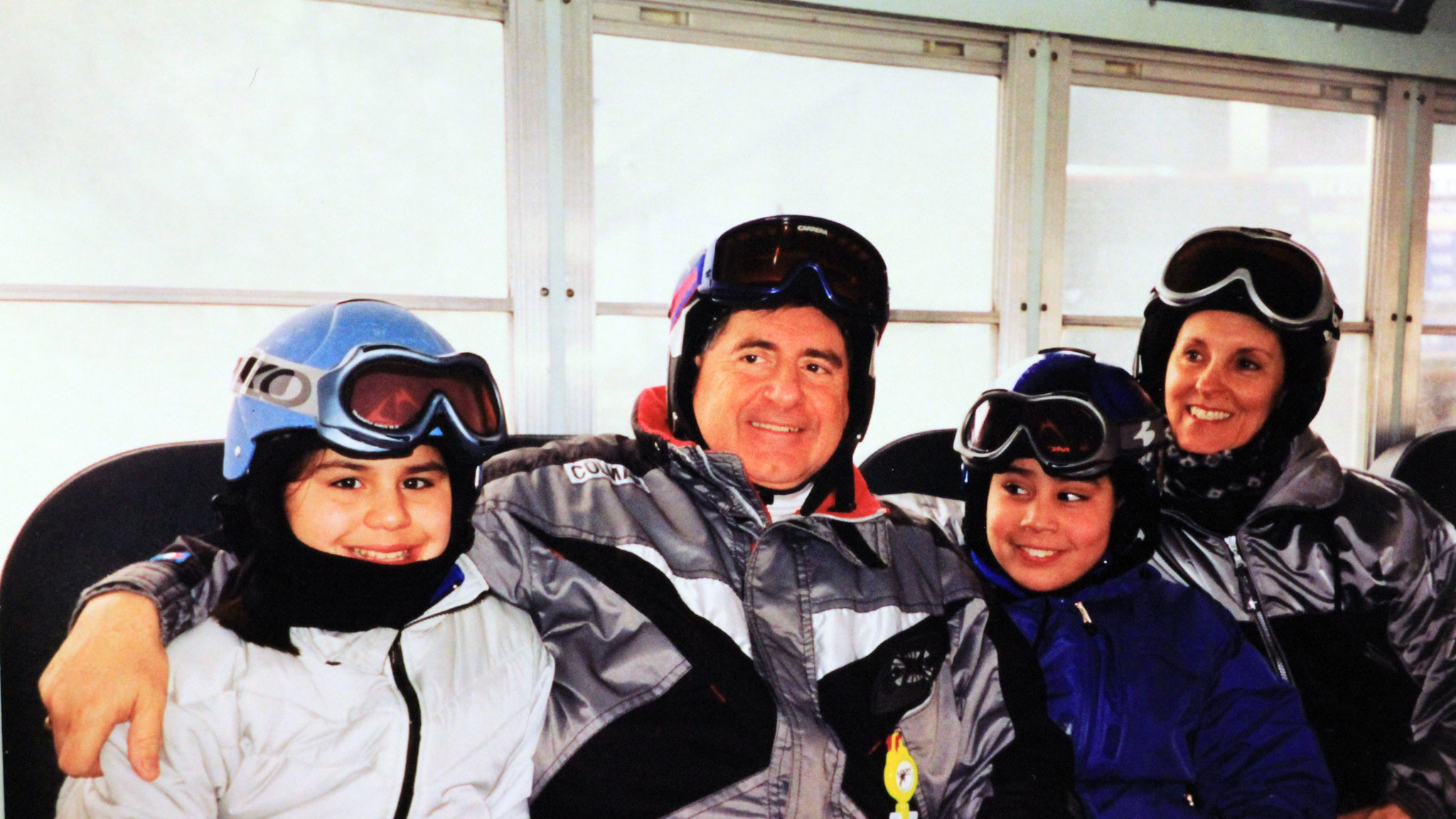 A Family of Skiers