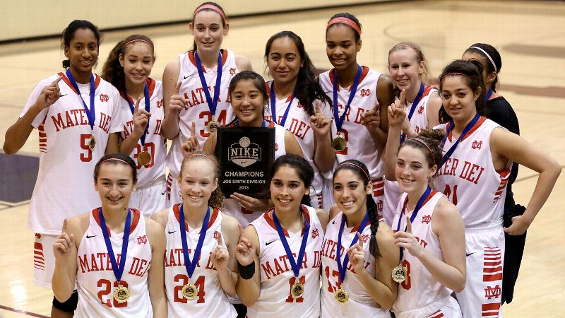 Top-ranked Mater Dei (Santa Ana, Calif.) sailed to the Joe Smith Division title at the Nike Tournament of Champions on Saturday with a win over fellow California power Long Beach Poly. The game was the culmination of three days of stellar play from some of the nations brightest stars. Heres a look at some of the top shots from the Phoenix tournament. (Photo: Chris Coduto/Icon SMI)