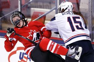 Whenever the United States and Canada face off, the games are almost always more physical.