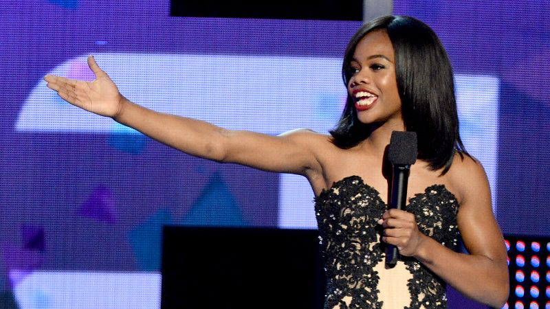Gabby Douglas, who won two gold medals at the London Olympics, gets double the celebration today as she turns 18 and rings in 2014.