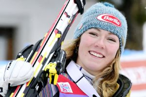 Mikaela Shiffrin fought through variable conditions Sunday to claim her second World Cup win of the season a month before the Sochi Olympics.