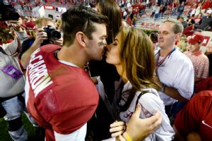 Katherine Webb has earned lots of TV time as AJ McCarron's girlfriend.