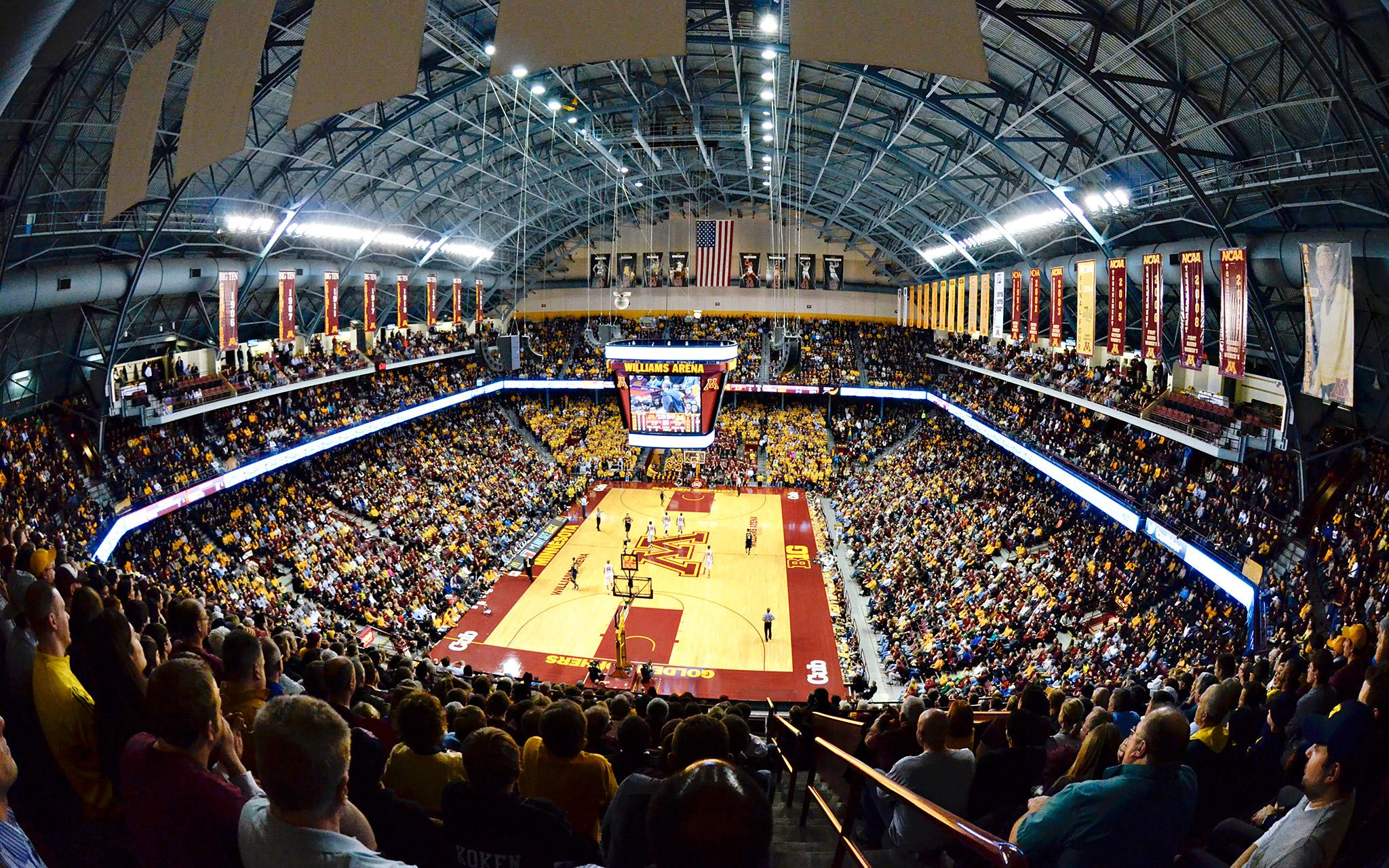 Williams Arena Homecourt Espn