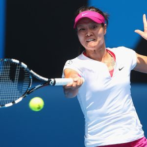 Li Na, who faced a match point earlier in the tournament, won her first Aussie Open title.