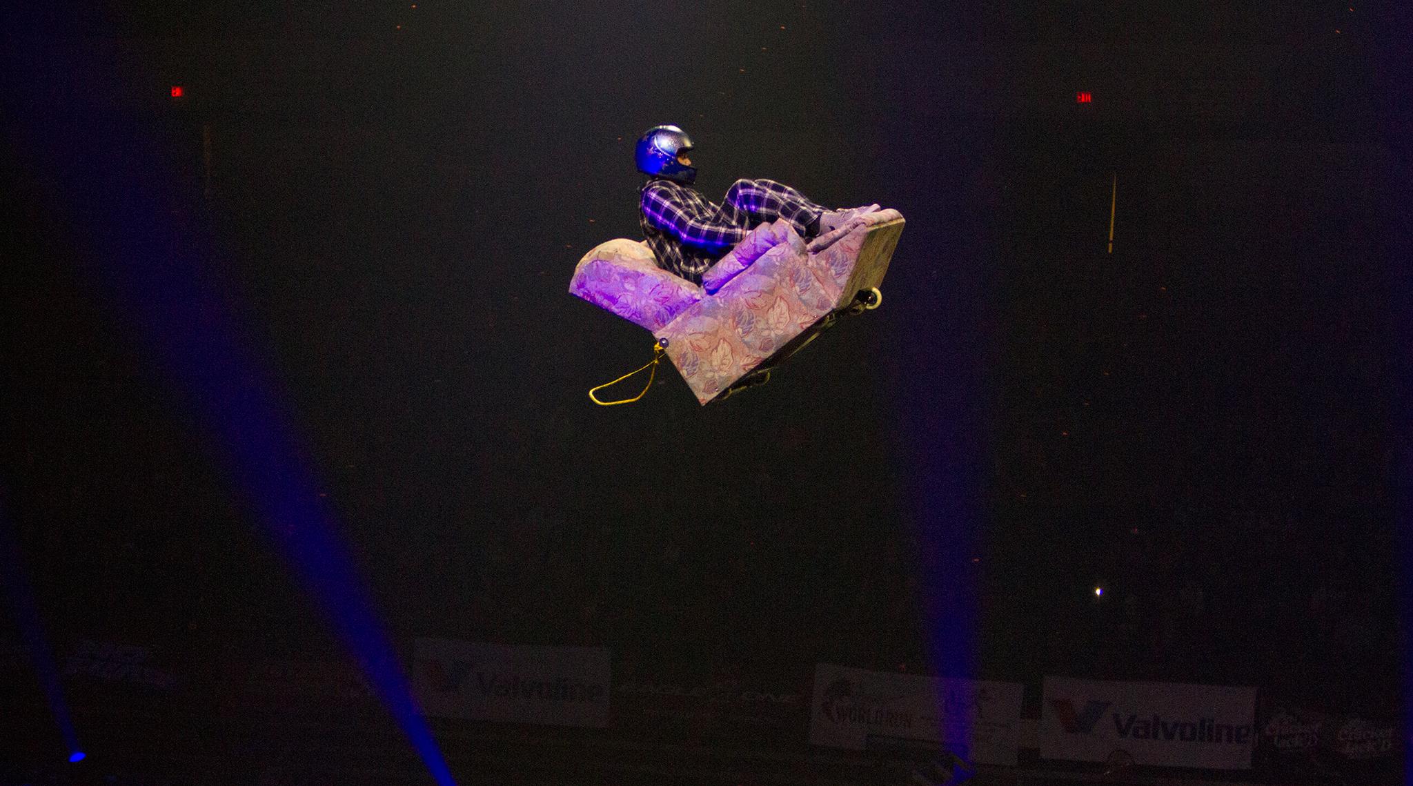 Cadeira voadora?