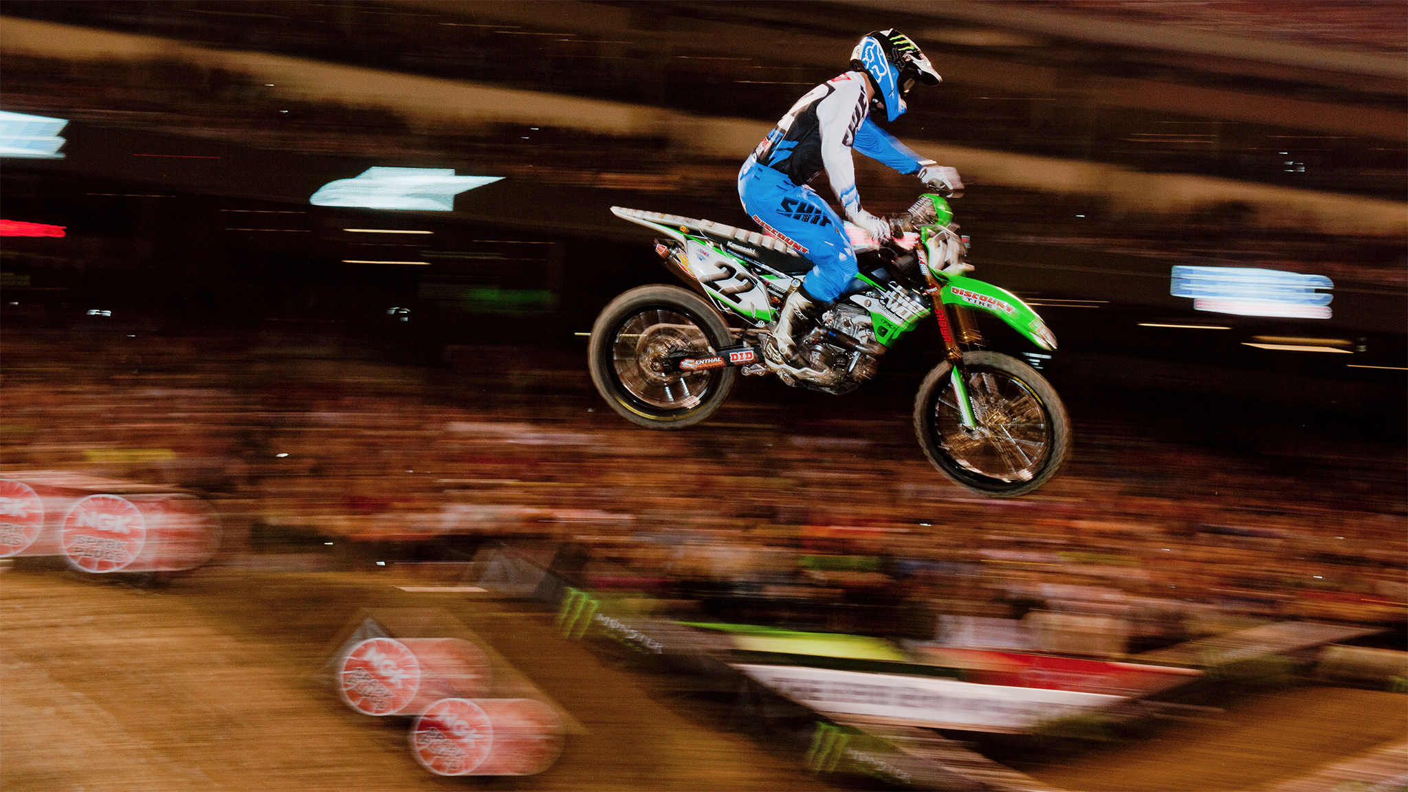 No. 5 Chad Reed