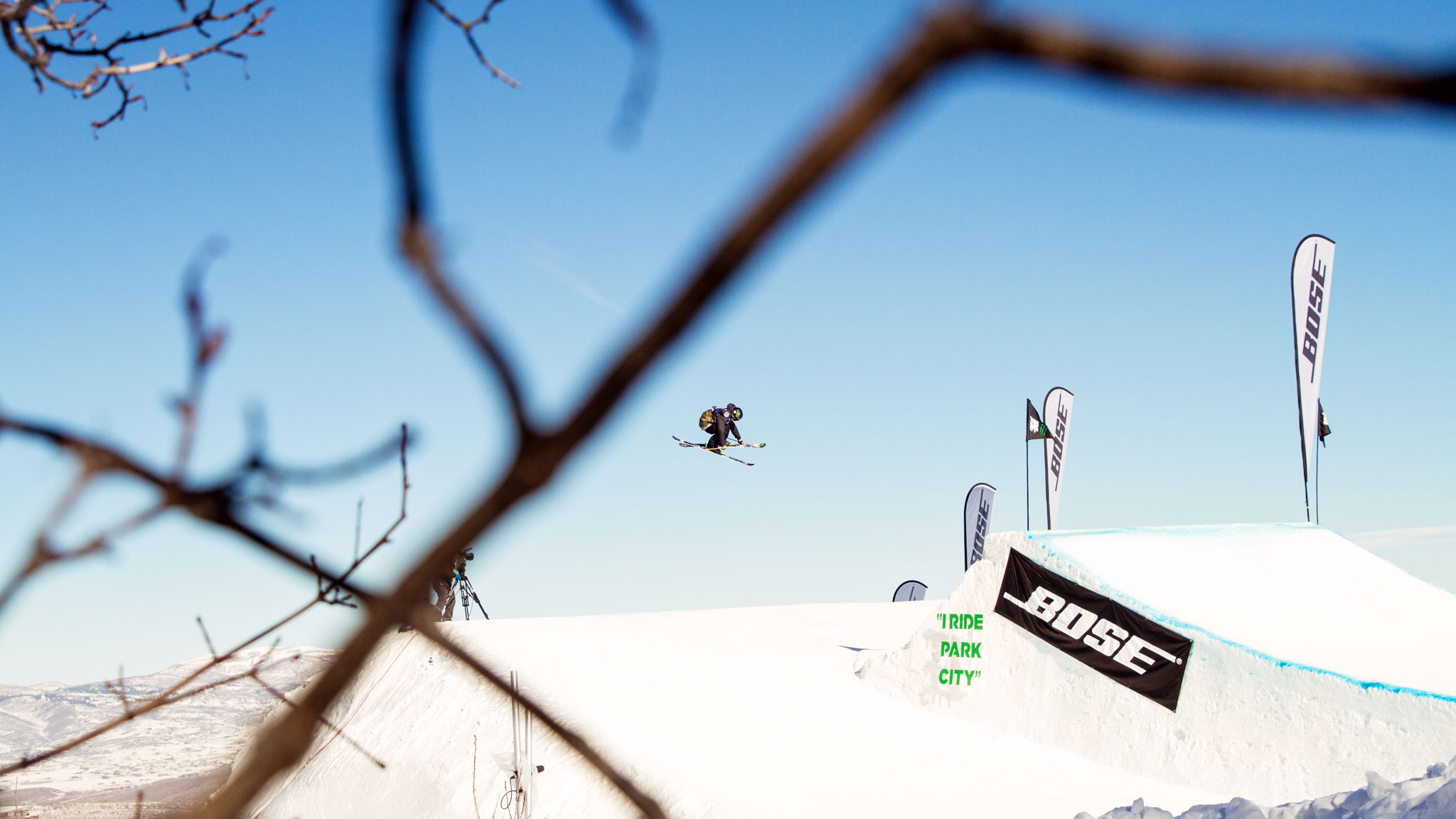 Alex Schlopy won the first of two slopestyle finals at this weekend's Grand Prix at Park City, Utah.