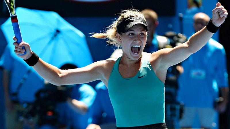 Since storming onto the scene at the Australian Open, Eugenie Bouchard has just stayed put at the top of the women's game.