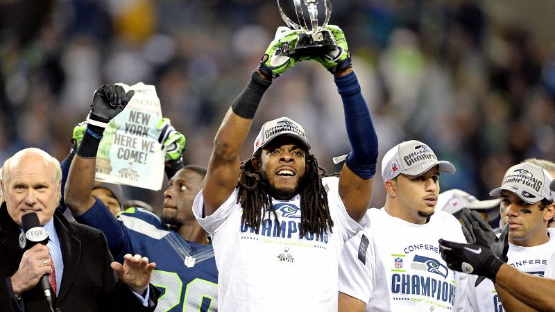 One thing's for sure: Richard Sherman gives us reason to believe we'll get an entertaining Super Bowl media day.
