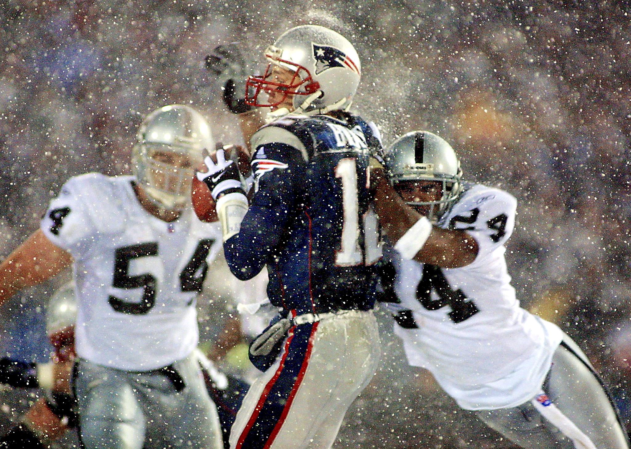 Patriots and Raiders