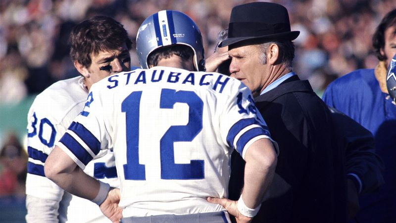 The unseasonably cold temperatures were no match for Tom Landry, Roger Staubach and the Cowboys in 1972.
