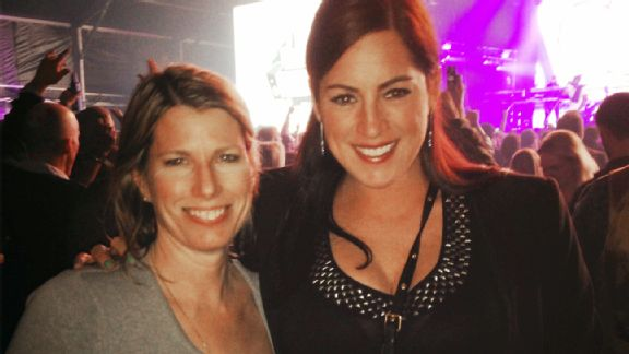 Sarah Spain and Jane McManus