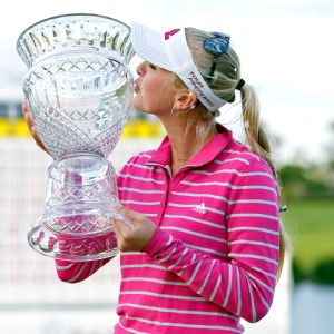 Just 20 and in her fourth year on tour, Jessica Korda now has two LPGA wins.