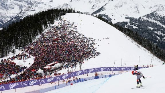 Miller nabbed a top-five finish in January's World Cup downhill in Switzerland.