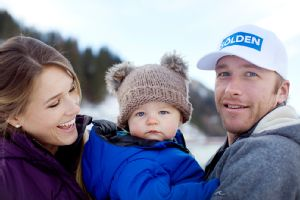 Miller (with wife Morgan and his 11-month-old son) and his son's mother, Sara McKenna, can't agree on a name for their baby: Dad calls him Nate; Mom calls him Sam.
