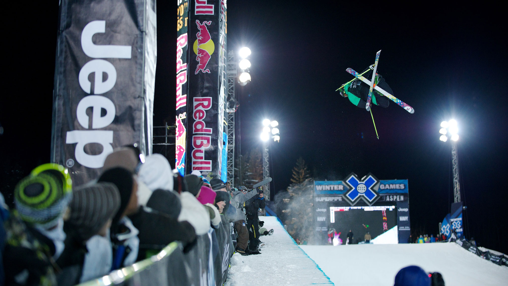 Xavier Bertoni last competed at X Games Aspen in 2012. He'll be representing France this week at the Olympics.