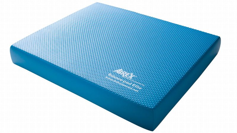 pDon't be fooled by this unassuming blue foam pad. Once you stand on it, your body weight causes you to sink down, making it difficult to perform even the simplest moves. Stack two pads on top of each other for an even greater challenge. a href=http://www.power-systems.com/p-3158-airex-balance-pad.aspxAirex Balance Pads/a are often used by physical therapists and force you to work the small-muscle stabilizers in your foot and ankle./p