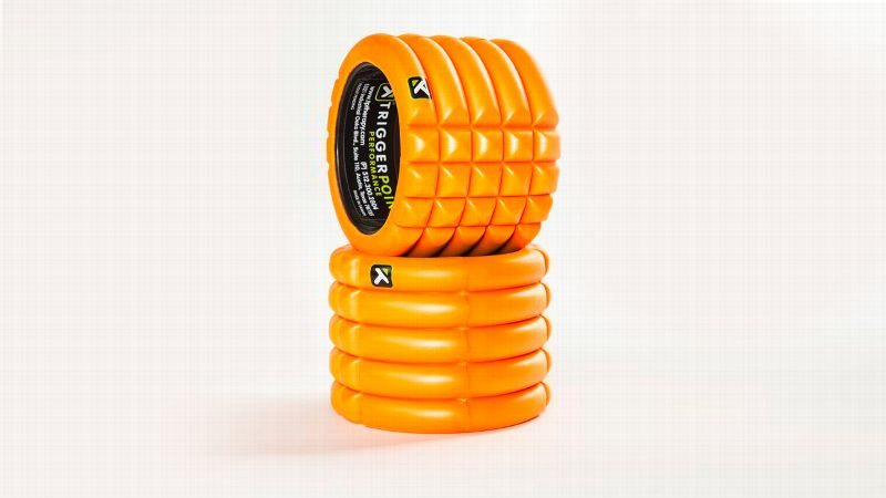 One of the top tools for working out sore muscles pre- and post-workout, foam rollers usually are too cumbersome to take on the road. Enter THE GRID Mini. A 5-inch tall by 5.5-inch diameter foam roller, it features targeted zones to help enhance circulation and flexibility. Many athletes swear by these foam rollers to prevent injuries, so it just might be the key to keep you up and running.