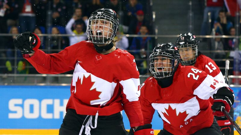 Birthday girl Meghan Agosta-Marciano scored two goals in Canada's 3-2 hockey win over the United States. The 27-year-old, who was MVP of the 2010 Olympics, helped lift Canada to its third straight Olympic win over Team USA. The teams are expected to meet again in the finals. i(Photo:Getty Images)/i